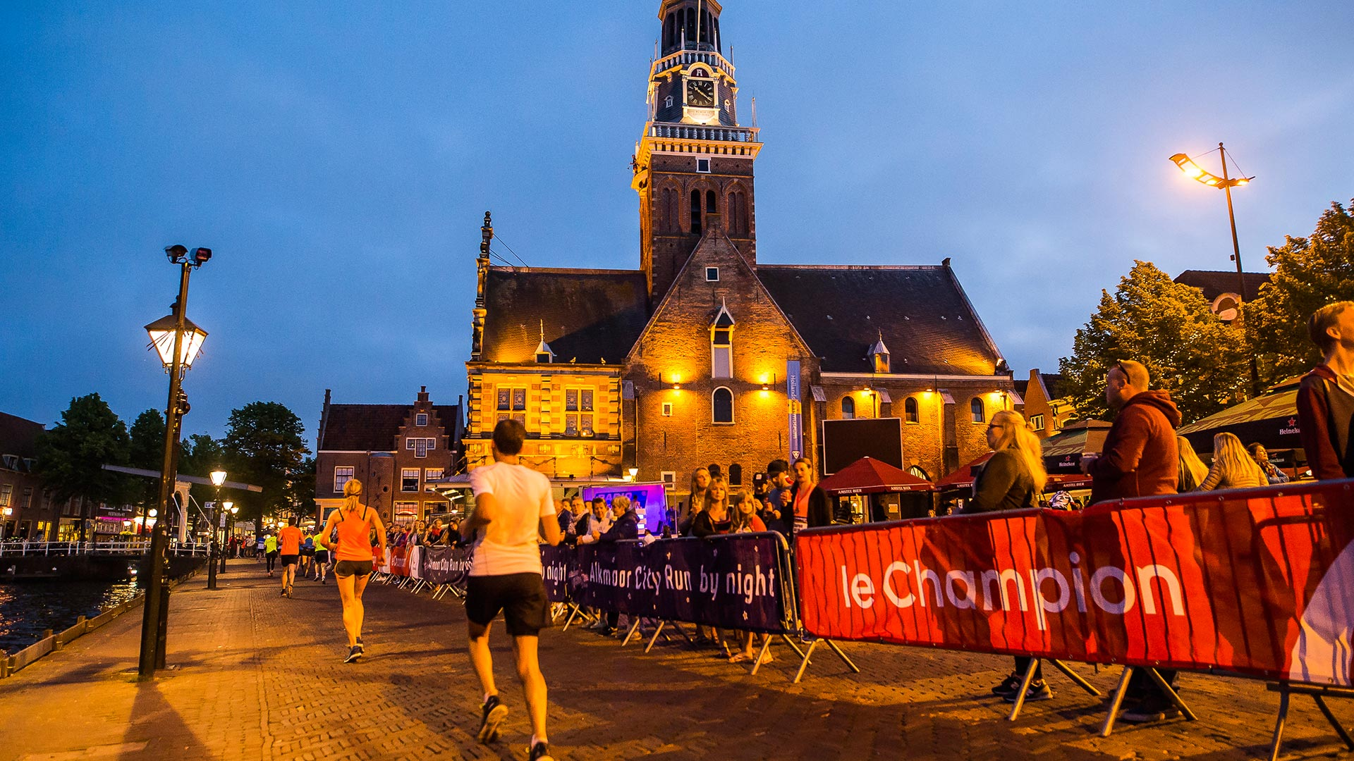 Alkmaar City Run by night 2017