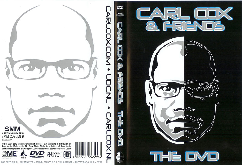 Carl Cox & Friends 2004 DVD